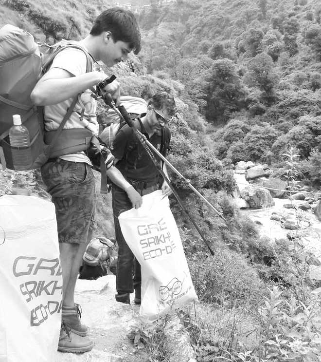 On waste trail in Himachal's Shrikhand