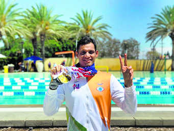 Puneet shines in Police Games