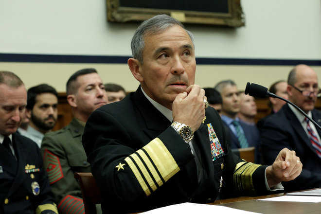 US ready to help India modernise its military: Admiral Harris