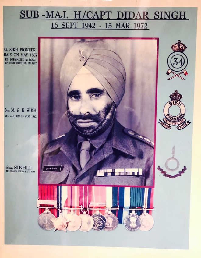 British officer saved a Sikh platoon from massacre