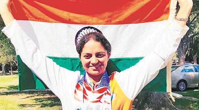 Avneet wins four medals at Police Games