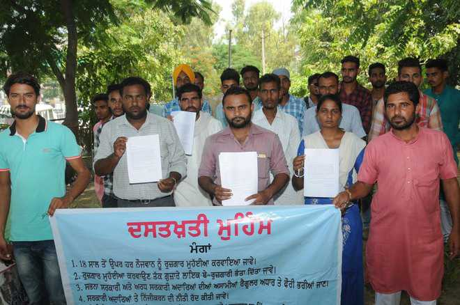 Students question state government over job promise