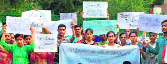 Residents seek quick action against accused