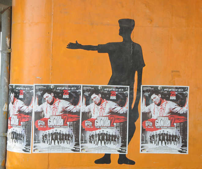 Defacement gives murals a shabby look in city