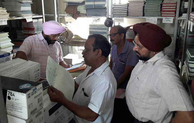 Team carries out verification of MC records, store