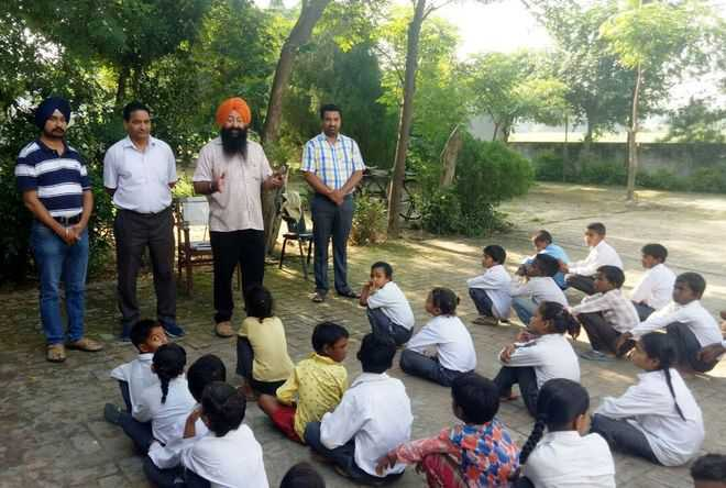 DEO inspects primary education offices, schools