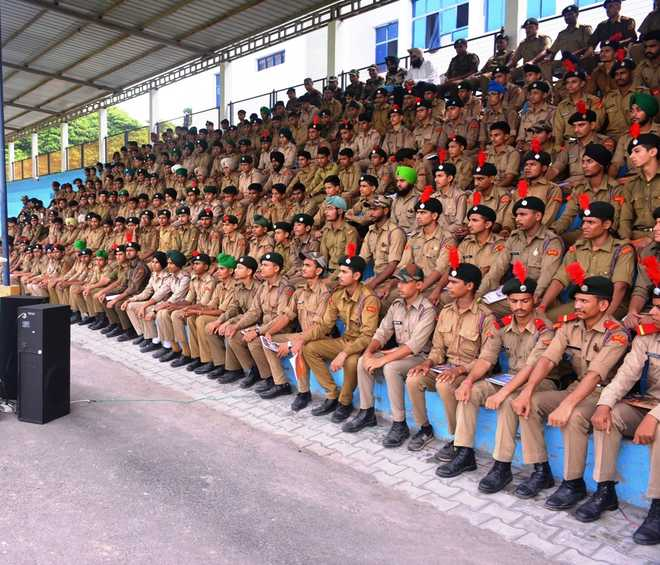 521 cadets take part in 10-day camp