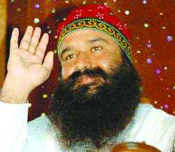 Hearing in case against chief: Sirsa dera followers gather outside court