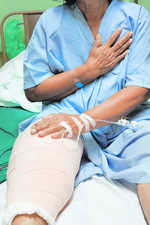 Prices of knee implants cut sharply