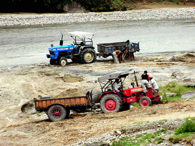 Illegal mining poses threat to 12 panchayats