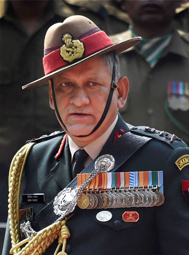 Army Chief stands by 'two front war' statement