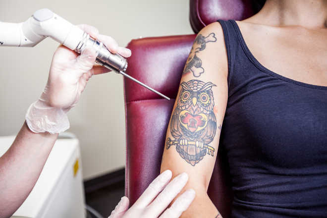Getting inked may harm your immune sytem