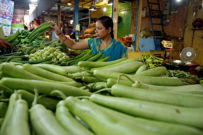 Retail inflation hits 5-month high of 3.36% on costlier veggies
