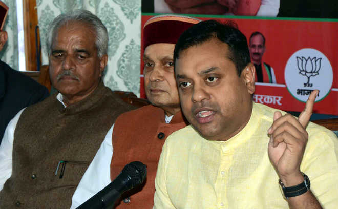 Officials made to collect money to pay CM's lawyers: Sambit