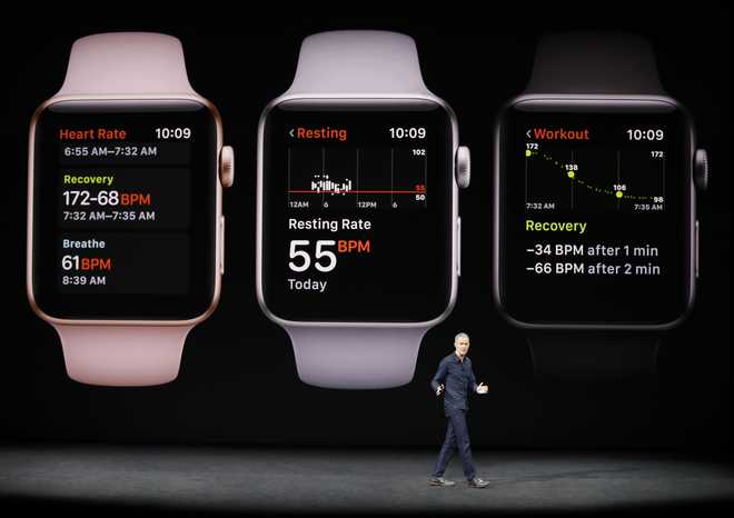 Apple unveils new smartwatch, says it is world's top watch