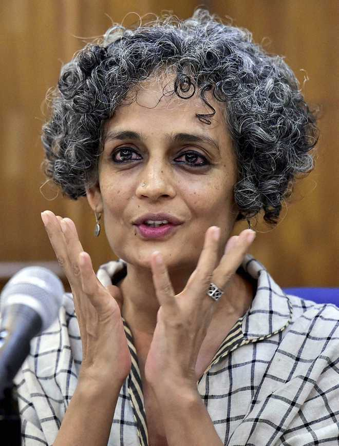 Arundhati Roy out of Man Booker prize race