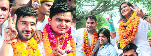 DUSU polls: NSUI bags posts of prez, vice-prez; ABVP settles with other 2