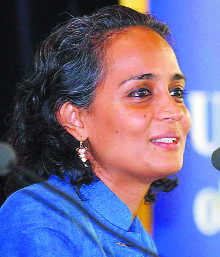 Arundhati out of Man Booker race