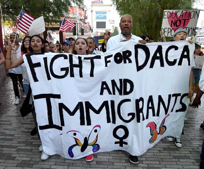 DACA: Deal reached with Trump to protect 'Dreamers'