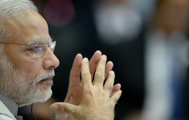 PM Modi visits Keshubhai's home to condole his son's death