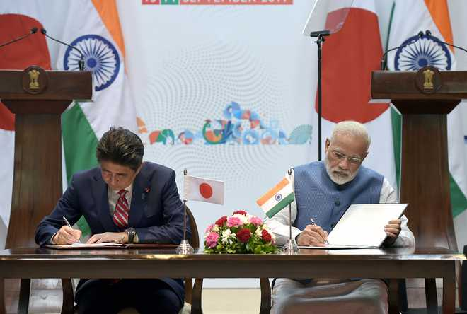 India, Japan agree to boost ties for peaceful Indo-Pacific