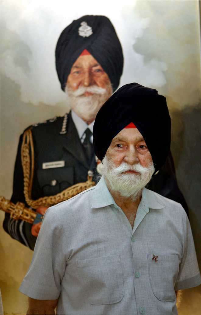 Arjan Singh — a man of few words and a fearless pilot