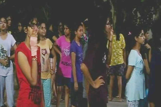 BHU molestation case: Protesting students lathicharged, 'dragged by hair'