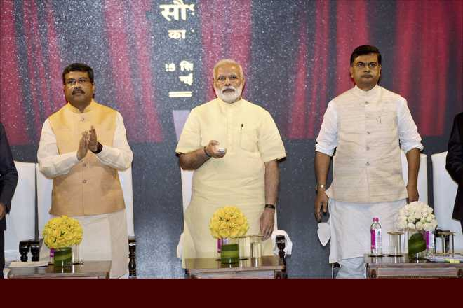PM Modi launches scheme to provide electricity to 4 crore households