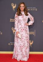 Actor Leah Remini attends day 1 of the 2017 Creative Arts Emmy Awards at Microsoft Theater on September 9, in Los Angeles, California. AFP