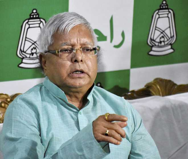 Contempt notice to RJD, Cong leaders; sentence to Lalu tomorrow