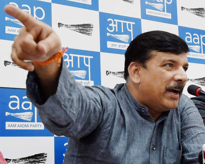 Sanjay Singh one of AAP's RS nominees; Kumar Vishwas 'snubbed'