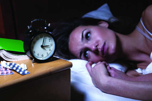 Sleeping less than 8 hours a night can lead to depression