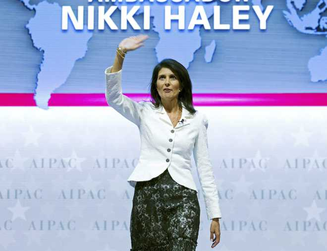 Nikki Haley harbouring presidential ambitions, claims book