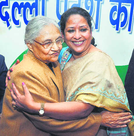 Sharmistha takes charge as state mahila Cong chief