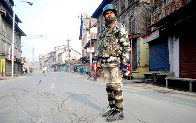 Shutdown affects life in Kashmir