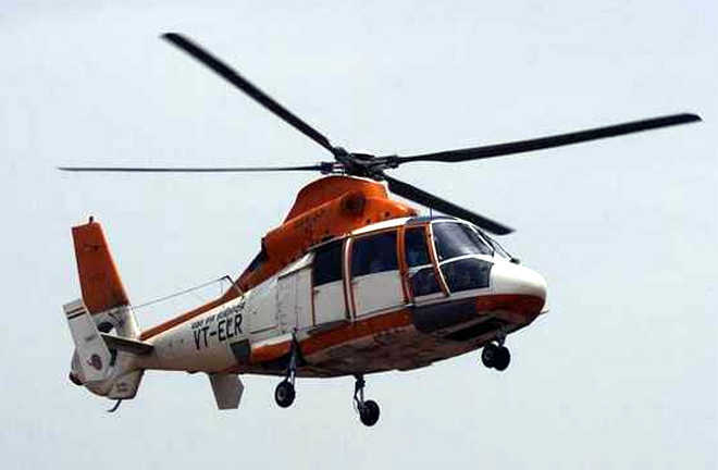 Voice data recorder of crashed helicopter traced