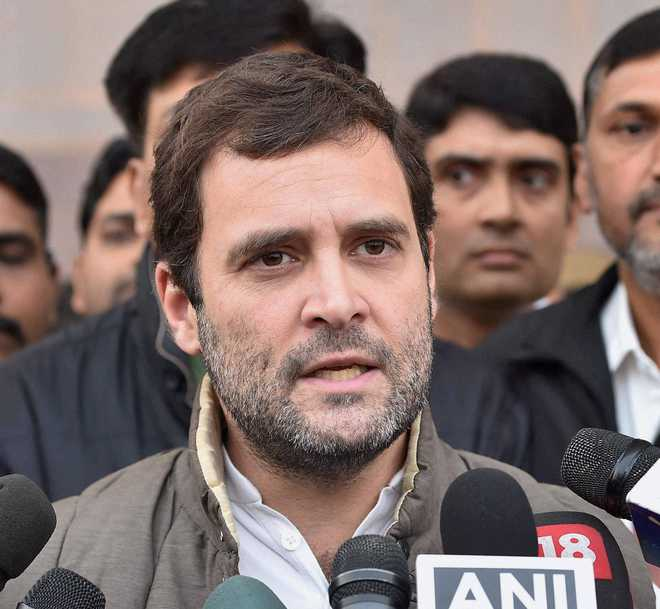 Orange passports: Rahul says it shows BJP's discriminatory mindset