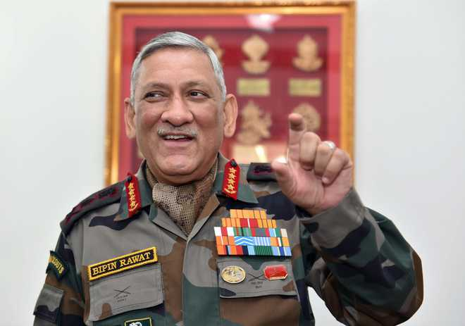 Scope to ramp up heat on Pak for cross-border terror: Army chief