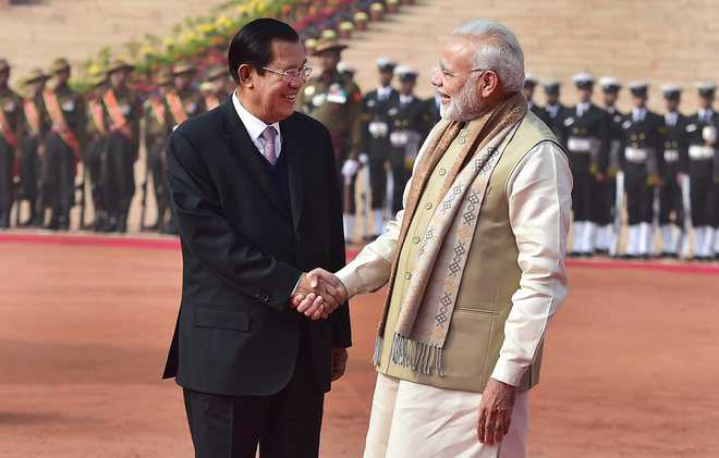 Asean outreach continues; India, Cambodia to step up maritime ties