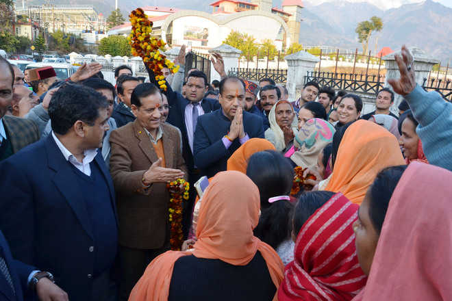 Rift in Palampur BJP to fore