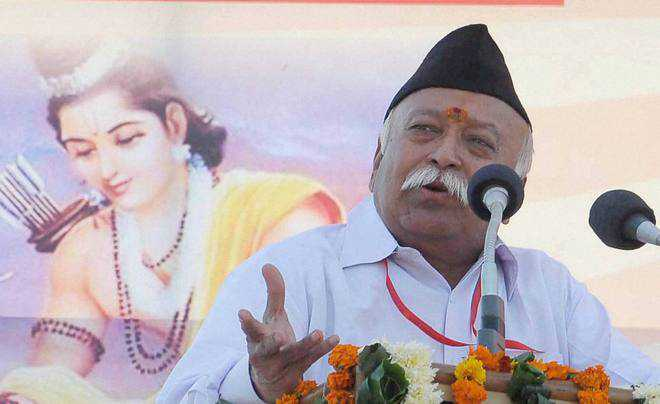 RSS can prepare an army within 3 days: Mohan Bhagwat