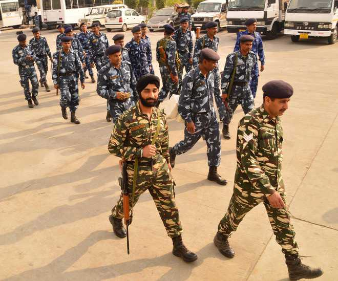 11 companies of para forces reach Rohtak