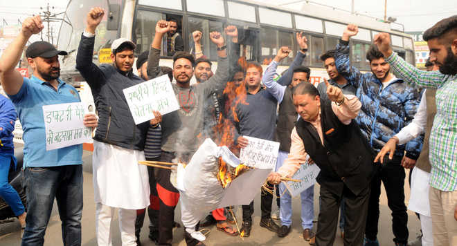Protest against GMC doctors for opposing inspections