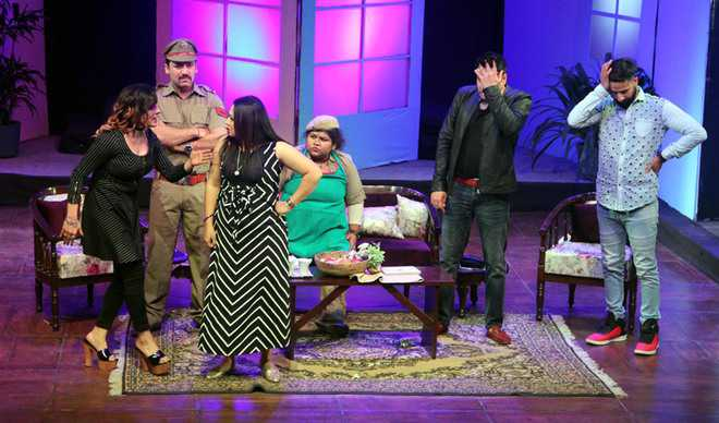 Play on extramarital affairs steals the show