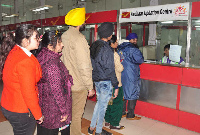 Post offices to house Aadhaar centres