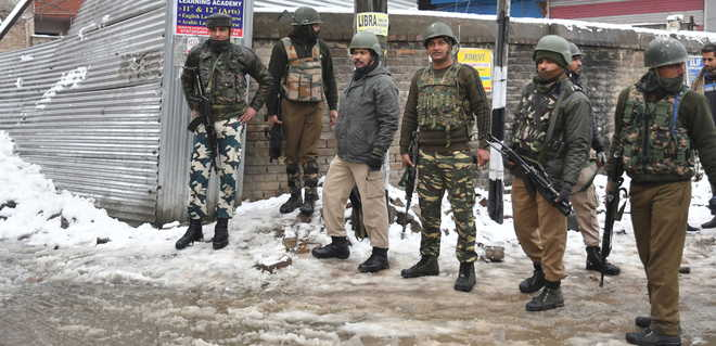 CRPF jawan killed in gunfight after bid to attack camp foiled