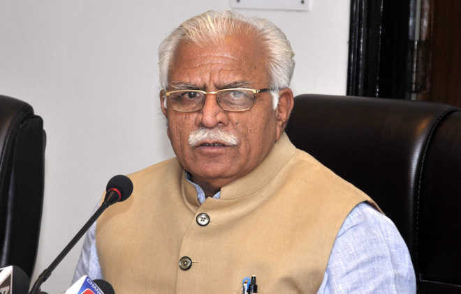 Khattar's surrender