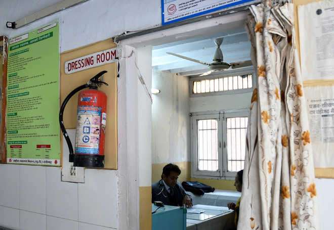 Kaimbwala village dispensary not in pink of health