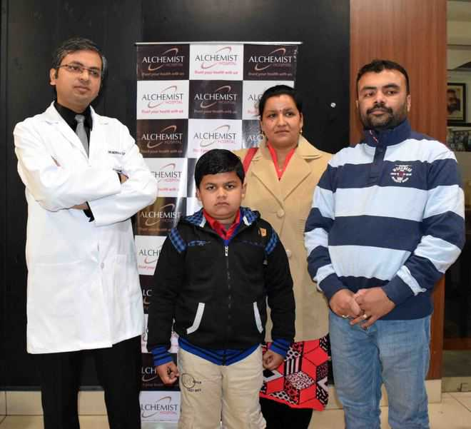 After complex kidney surgery, boy gets new lease of life