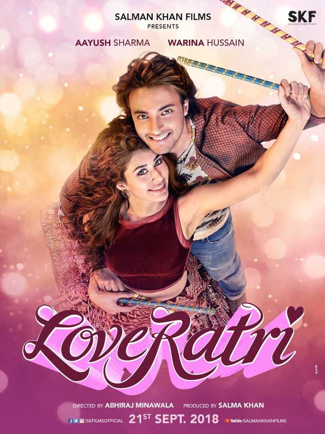 Salman unveils first poster of 'Loveratri' on Valentine's Day